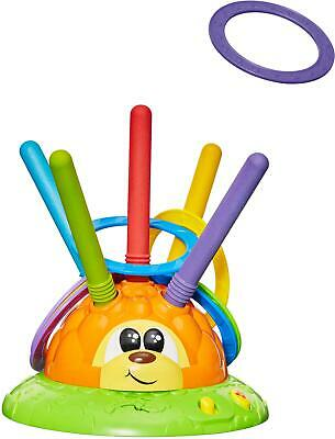 Chicco FIT N FUN HEDGEHOG HOOPLA Mister Ring Toddler Child Interactive Toy BN • 18.98£