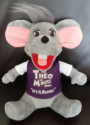 Theo The Mouse Cuddly Plush Toy Brand New • 15£