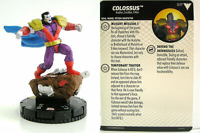 HEROCLIX X-Men Animated Series Dark Phoenix Saga Colossus 037 Super Rare • 9.89£