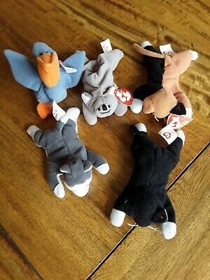 Selection Of 5 McDonald's TY Beanie Baby Toys • 1.99£