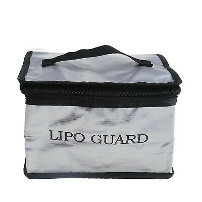Safely Charging Protect Bag LiPo Safe Battery Guard Explosion Proof Fiberglass • 9.57£