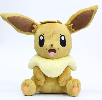Eevee Plush Soft Toy Character Stuffed Animal Doll Teddy Sitting 12  • 10.99£
