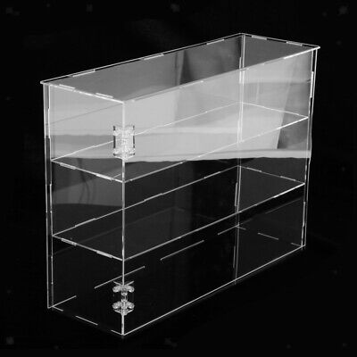 Acrylic Display Case Stand Perfume Collectibles Toys Dustproof Box Organizer • 29.65£
