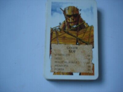 Vintage 1980's? Top Trumps DRAGONS & MAGIC BEASTS Card Game • 9.95£