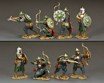 KING AND COUNTRY CRUSADERS The Fighting Saracens Set # 2 - Four Figures MK202 • 196.95£