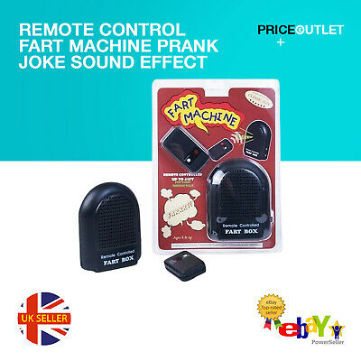 Remote Control Fart Machine Prank Joke Sound Effect • 12.99£
