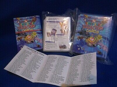 Beanie Babies Collectors Cards...series 2..200 In Sealed Packs & 100 Loose...new • 12£