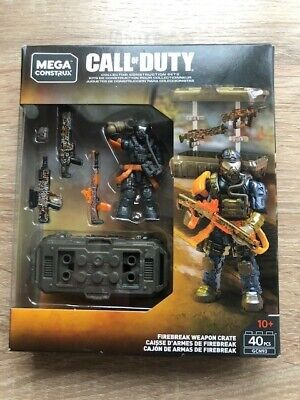 Brand New Call Of Duty Mega Construx FIREBREAK WEAPON CRATE Set! BNIB! • 22£