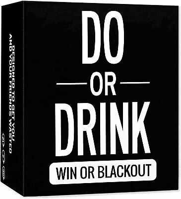 Do Or Drink - Drinking Card Game For Adults - Fun & Dirty Party - Dare Or Shots • 15.99£