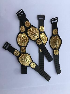10pcs WWE Championship Toy Belt For Wwe 7 Inch Action Figure Heavyweight Gold • 6.99£