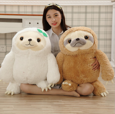 UK Plush Toy Cute Giant Sloth Stuffed Pillow Cushion Gifts Animal Doll Soft P1 • 22.70£