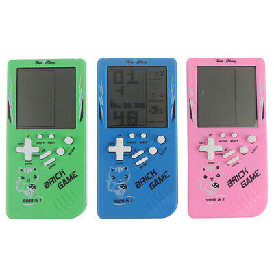 Big Screen Classic Handheld Game Machine Tetris Brick Game Kids LCD ElectIC • 4.57£