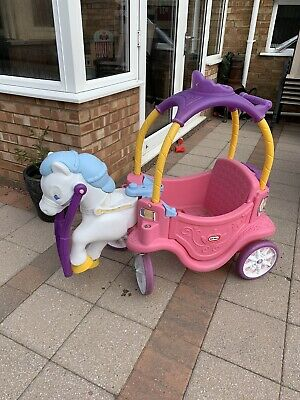 Little Tikes Princess Horse And Carriage • 60£