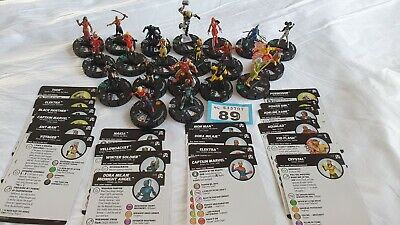 Heroclix Figures And Cards (89) • 9.99£