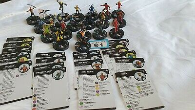 Heroclix Figures And Cards (91) • 9.99£