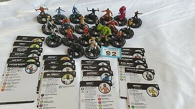 Heroclix Figures And Cards (92) • 9.99£
