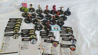 Heroclix Figures And Cards (93) • 9.99£