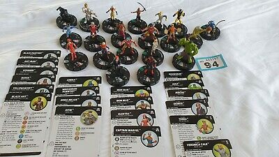 Heroclix Figures And Cards (94) • 9.99£