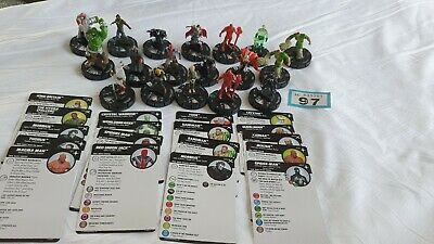 Heroclix Figures And Cards (97) • 9.99£
