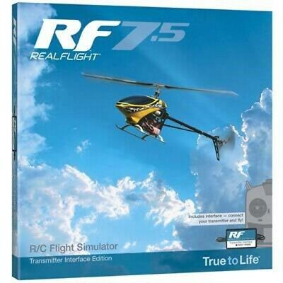 Great Planes Z4525 RealFlight 7.5 W/Wired Transmitter Interface • 97.05£