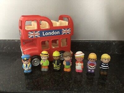 Elc Happyland London Bus With Figures • 12.50£