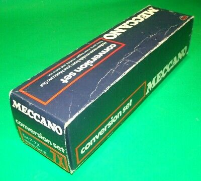 Meccano Conversion Set 7X, Boxed, Complete • 120£