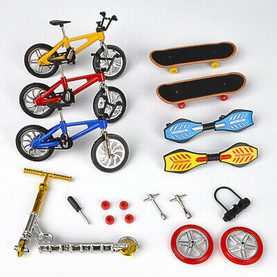 1 Set Mini Bike Scooter Finger Skateboard Fingerboard Educational Toys Kids Gift • 5.39£