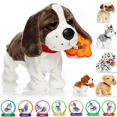 Interactive Robot Dog Electronic Toy Control Walk Sound Bark Stand For Baby Kids • 15.89£