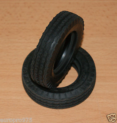 Tamiya Rough Rider/FAV/Buggy Champ, 9805108/19805108 Front Tyres/Tires, NEW • 15.94£