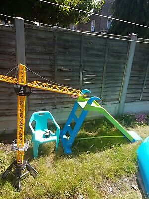 Chad Valley 4ft Kids Garden Slide + The Toy From The Picture And The Green Chair • 0.99£