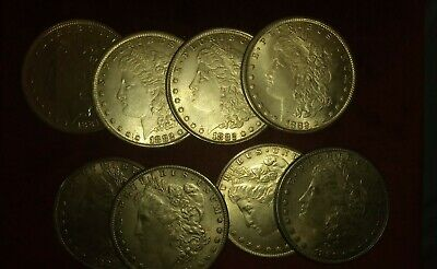 Steel Morgan Replica Dollar's With Two Shells For Magic  • 2£