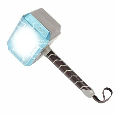 Cosplay The Thor Led Light Luminous Sounding Weapon Hammer Model Toy • 15.99£
