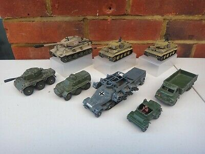 Lots Of Vintage Military Corgi,dinky & Unimax Toys • 6.50£