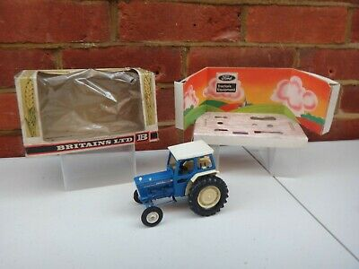 Vintage 1976 Britains Ford Farm Tractor 1:32 Scale Boxed • 11.50£
