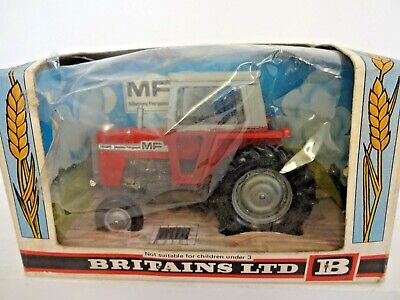 Britains 9522 Massey Ferguson Red Tractor - Original Box • 18£
