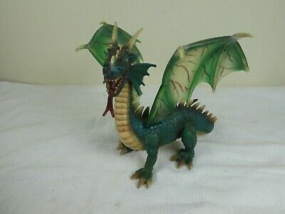 Schleich Mythical Winged Green Dragon  Action Figure Toy RETIRED RARE • 16.99£