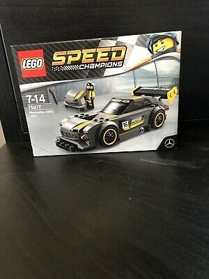 Lego 75877 Speed Champions Mercedes AMG GT3, New And Sealed • 34.99£