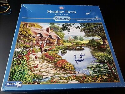 Gibson's 'Meadow Farm' Puzzle, 1000 Pieces • 3.99£