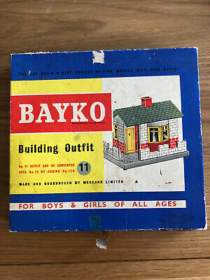1960's BAYKO BUILDING OUTFIT No.11 • 7.50£
