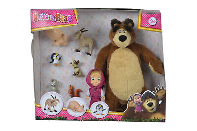 109301012 Masha And The Bear Bear & Doll Set Children Kids Age 3 Years+ • 23.39£