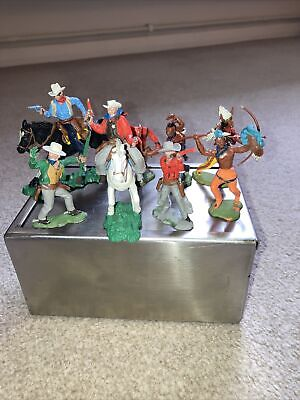 Vintage Swoppet / Herald Cowboys And Indians • 13.50£