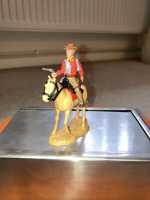 Timpo Mounted Cowboy Fourth Series On Rare Horse • 39.99£