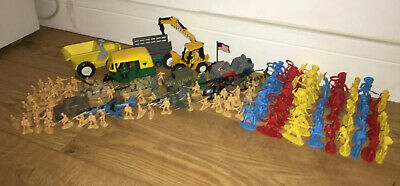 Soldiers/Cowboys/Native Americans/Tanks/Jeeps/Jets/Choppers/Construction Joblot • 4.99£