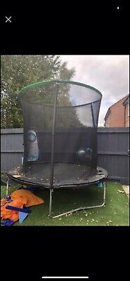 8ft Trampoline With Enclosure • 60£