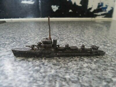 Vintage Hollow Lead Model Warship • 16.75£