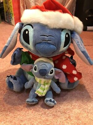 "Disney Christmas Stitch 12"" Plushie • 21.50£"