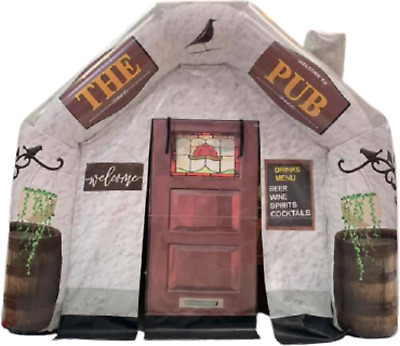 10ft X 12 Mini Inflatable Pub For Garden Parties Events  • 625£