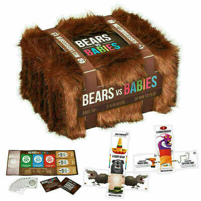 2020 Bears Vs Babies - A Monster-Building Card Game - Family-Friendly Party Game • 13.79£
