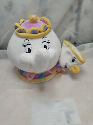Disney Store Beauty And The Beast Mrs Potts And Chip Plush Soft Toy  • 10£