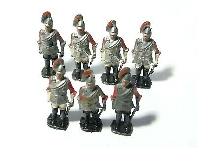 7 Vintage Lead Solider Toys Very Play Worn 6cm Tall #6 • 12£